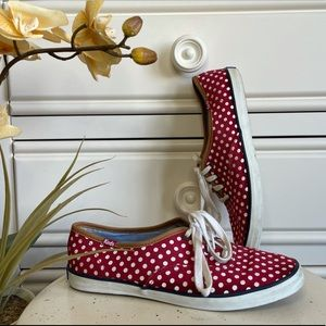 Keds - Red/White Polka Dot Sneakers